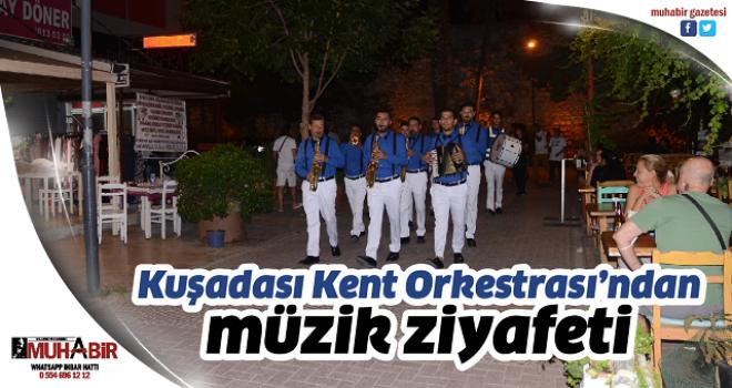 Kuşadası Kent Orkestrası'ndan müzik ziyafeti
