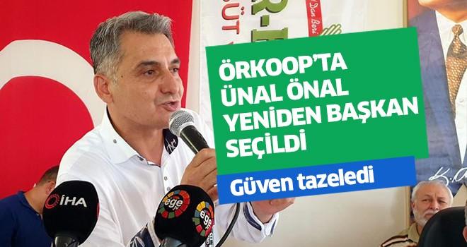 ÖRKOOP'ta Ünal Önal yeniden başkan seçildi