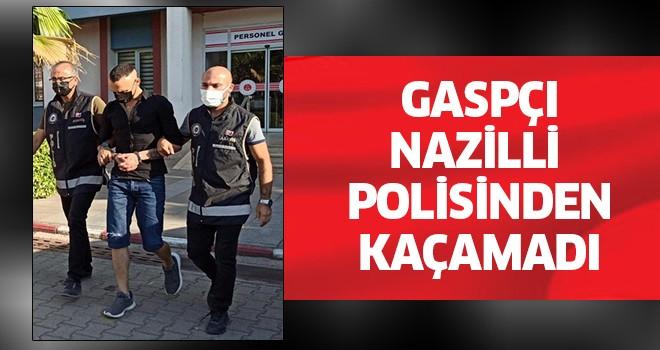 Gaspçı, Nazilli Polisinden kaçamadı!