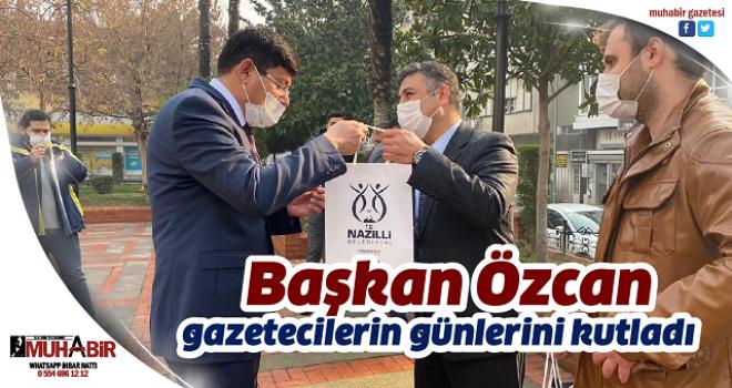 Başkan Özcan gazetecilerin günlerini kutladı
