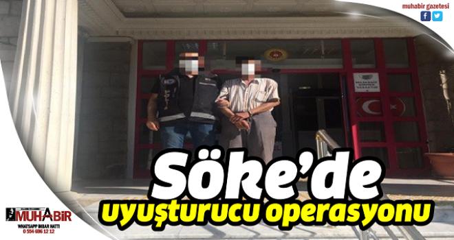 Söke'de uyuşturucu operasyonu