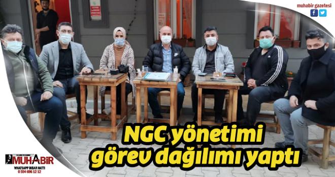 NGC yönetimi görev dağılımı yaptı