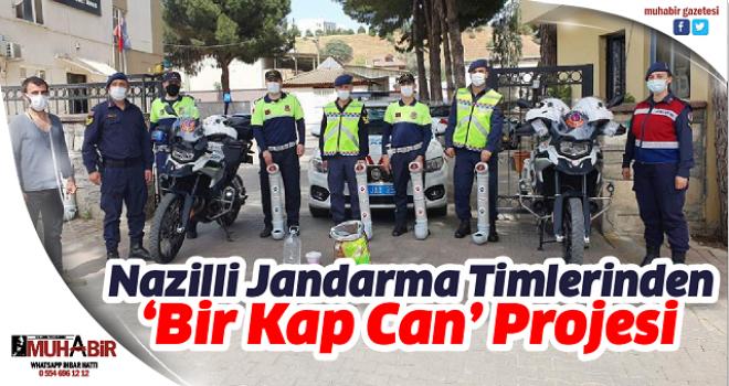 Nazilli Jandarma Timlerinden 'Bir Kap Can' Projesi