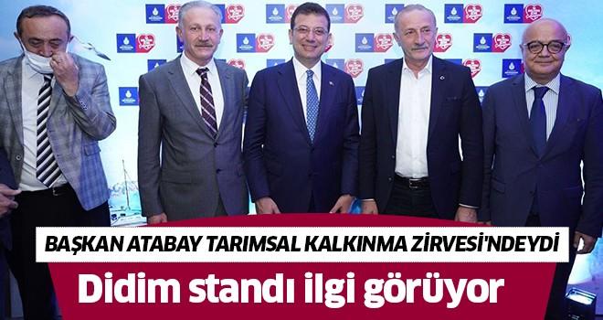 Başkan Atabay, CHP'li Belediyeler Tarımsal Kalkınma Zirvesi'ndeydi