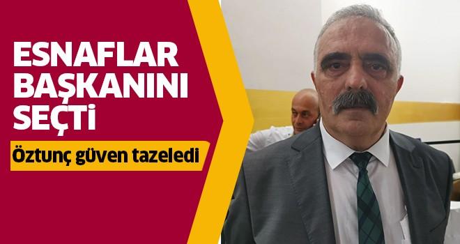 Nazilli'de esnaflar başkanını seçti