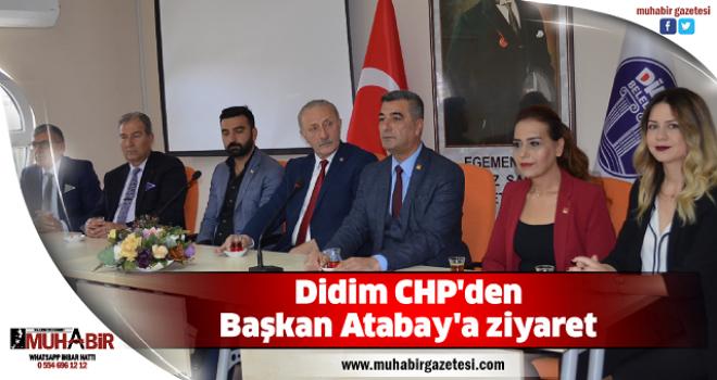 Didim CHP'den Başkan Atabay'a ziyaret