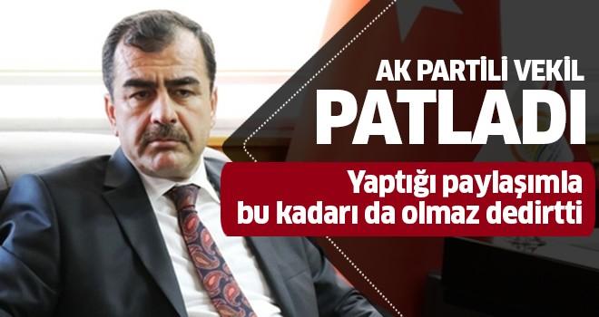 AK Partili eski vekil gerçekleri görmezden geldi