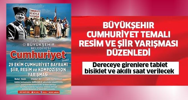 Büyükşehir, Cumhuriyet temalı resim ve şiir yarışması düzenledi