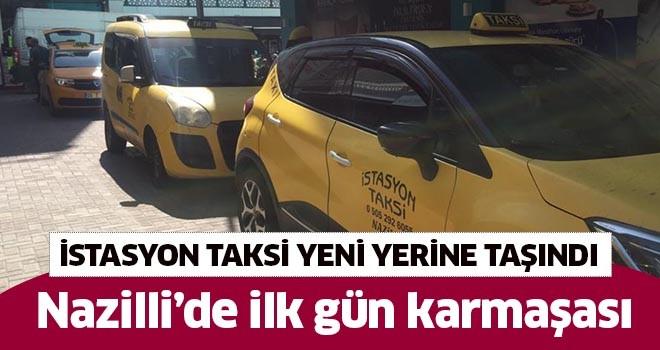 Nazilli'de İstasyon Taksi yeni yerine taşındı