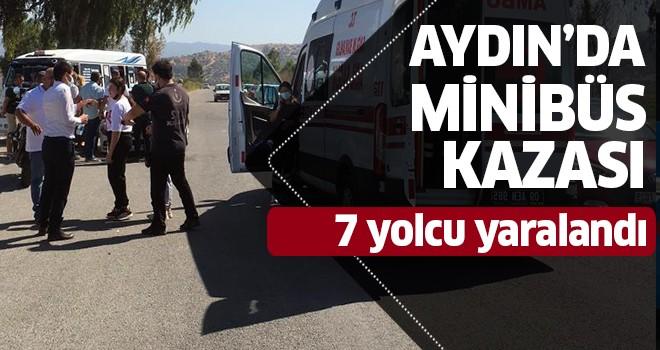 Aydın'da minibüs kazası!