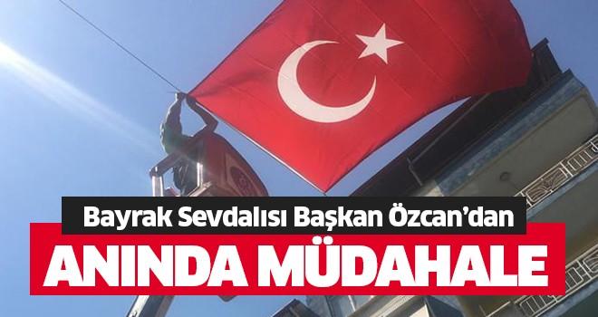 Başkan Özcan'dan anında müdahale