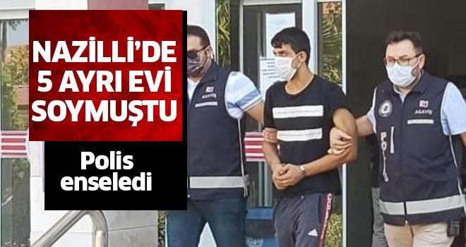 Hırsızlık yapan şahıs tutuklandı