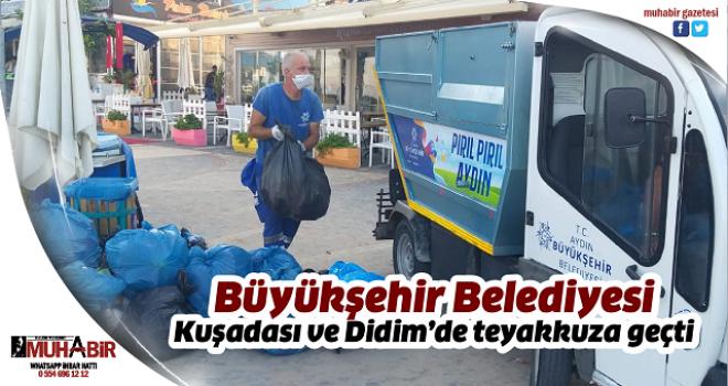 Büyükşehir Belediyesi Kuşadası ve Didim'de teyakkuza geçti