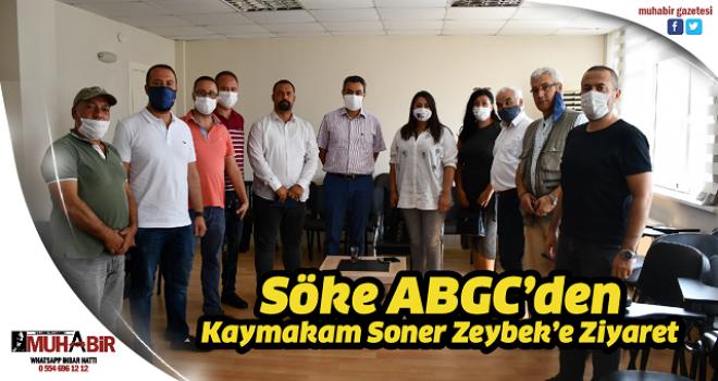 Söke ABGC'den Kaymakam Soner Zeybek'e Ziyaret