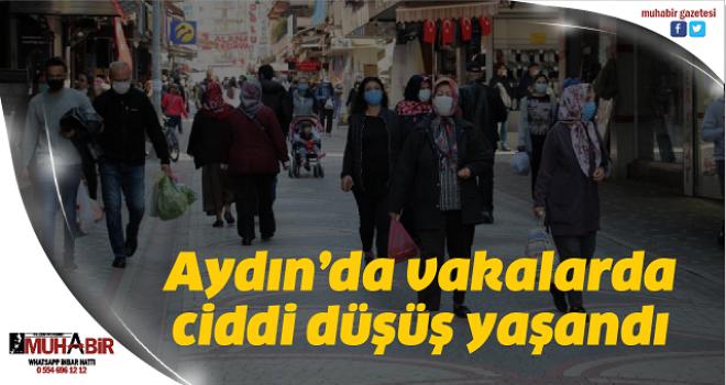 Aydın'da vakalarda ciddi düşüş yaşandı