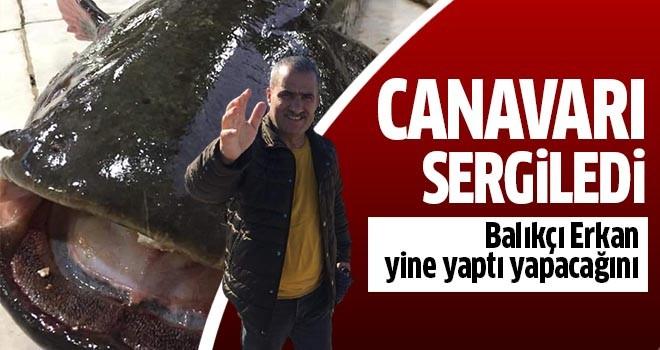 Balıkçı Erkan yine yaptı yapacağını