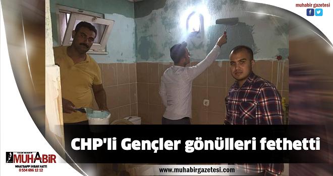 CHP'li Gençler gönülleri fethetti