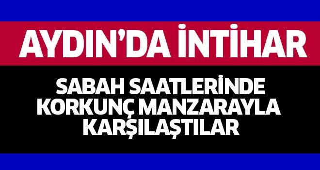Aydın'da intihar!