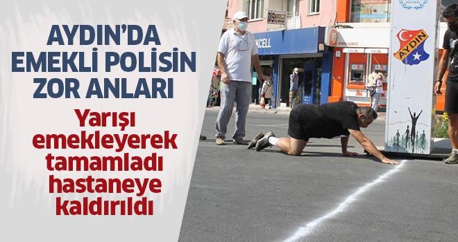 Aydın'da polisin zor anları