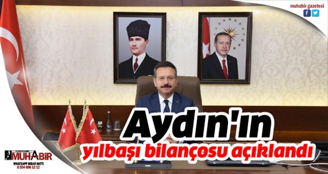 Aydın'ın yılbaşı bilançosu açıklandı
