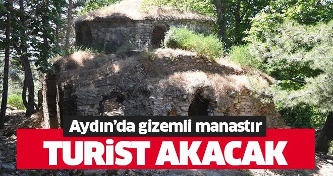 Aydın'da gizemli manastır