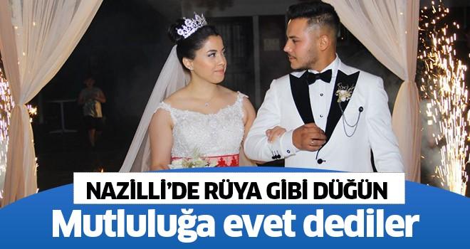 Nazilli'de rüya gibi düğün