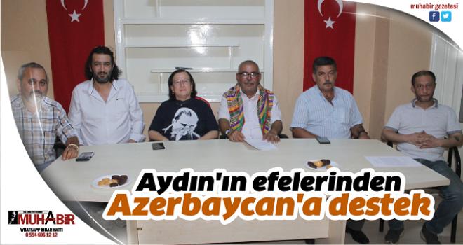 Aydın'ın efelerinden Azerbaycan'a destek