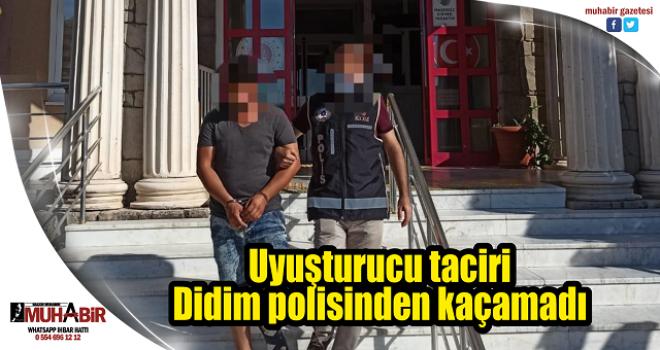 Uyuşturucu taciri Didim polisinden kaçamadı