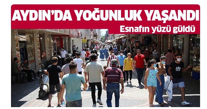 Aydın'da yoğunluk yaşandı