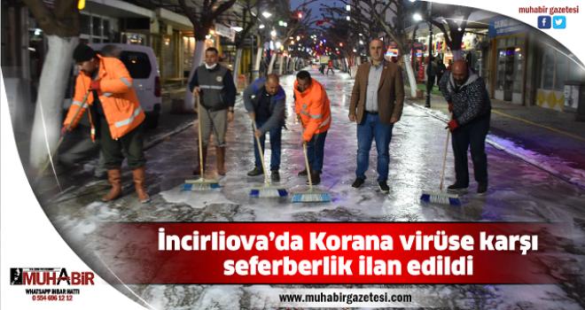 İncirliova'da Korana virüse karşı seferberlik ilan edildi