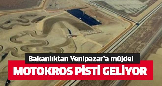 Yenipazar'a motokros pisti geliyor