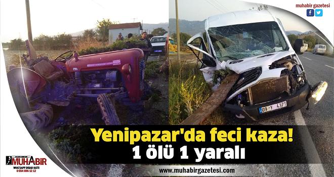 Yenipazar'da feci kaza!