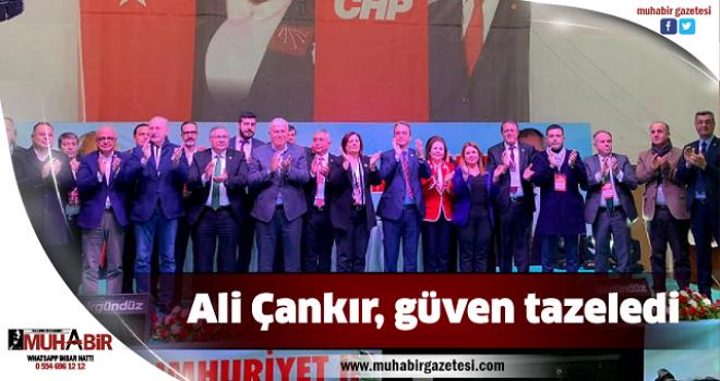 Ali Çankır, güven tazeledi