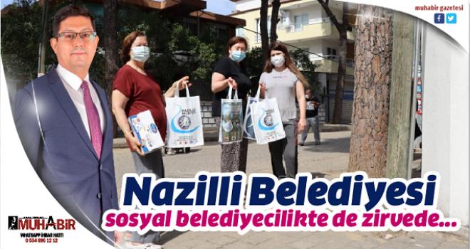 Nazilli Belediyesi sosyal belediyecilikte de zirvede...