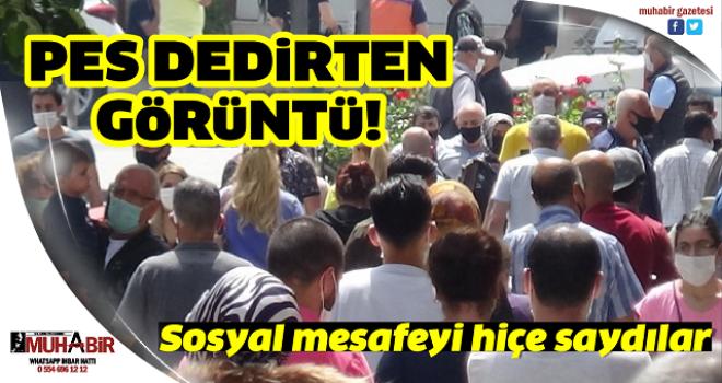 İstanbul'da pes dedirten görüntü değişmedi