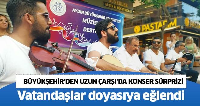 Büyükşehir'den Uzun Çarşı'da konser sürprizi