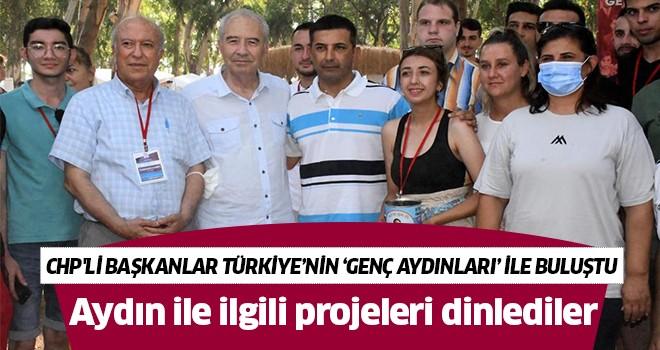 CHP'li başkanlar Türkiye'nin 'Genç Aydınları' ile buluştu