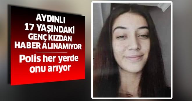 Aydınlı genç kız 28 saattir kayıp