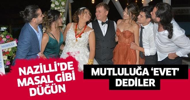 Nazilli'de masal gibi düğün