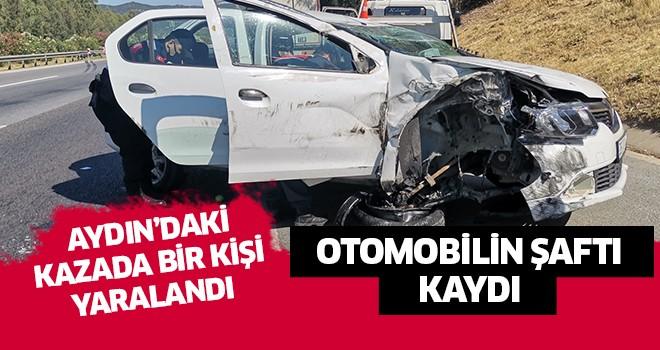 Aydın''da trafik kazası