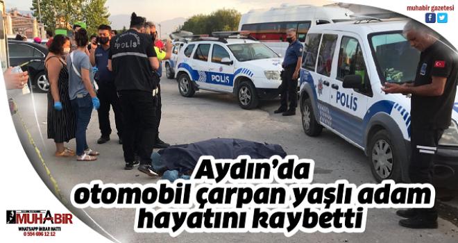 Aydın'da otomobil çarpan yaşlı adam hayatını kaybetti
