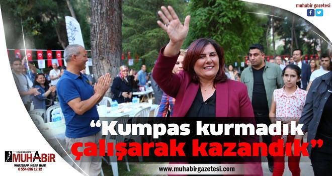Başkan Çerçioğlu'ndan kumpasçılara cevap