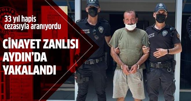 Cinayet zanlısı Aydın'da yakalandı