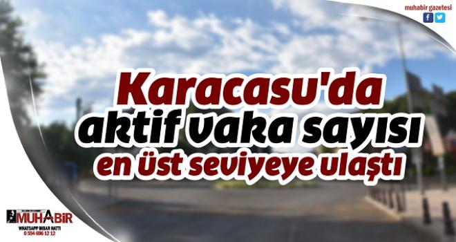 Karacasu'da aktif vaka sayısı en üst seviyeye ulaştı