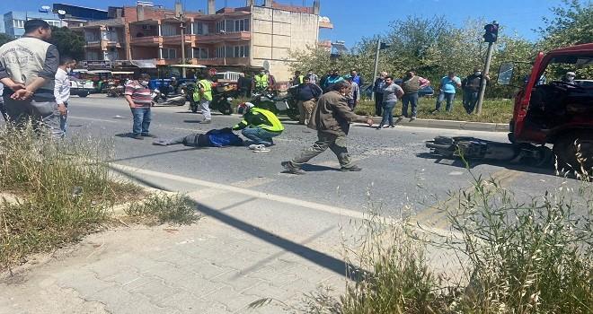 Aydın'da feci kaza: 1 ölü