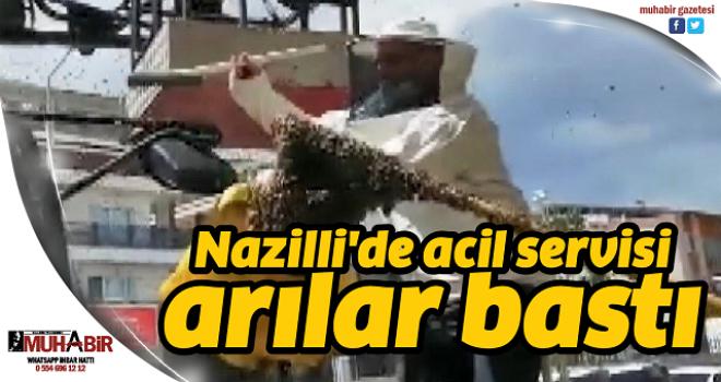 Nazilli'de acil servisi arılar bastı