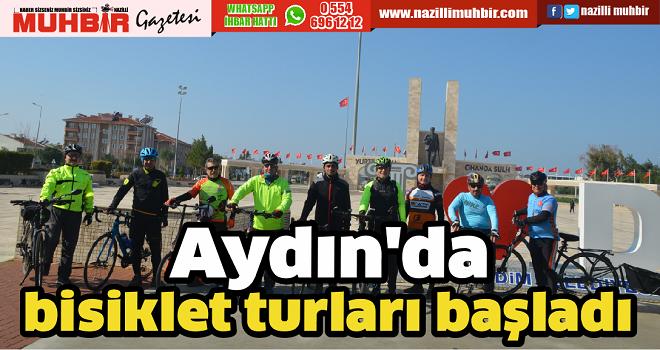 Aydın'da bisiklet turları başladı