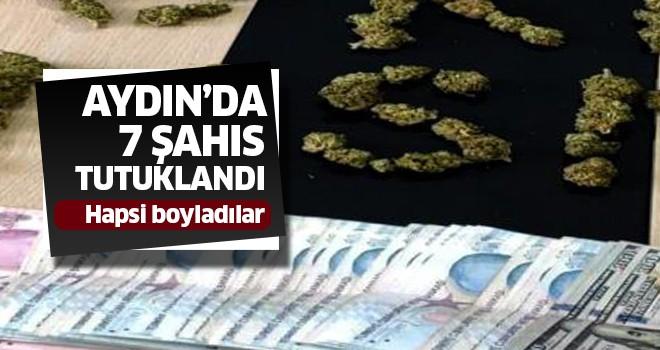 Aydın'da 7 kişi tutuklandı