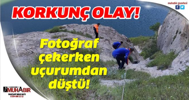 Fotoğraf çekerken uçurumdan düşen adam hayatını kaybetti
