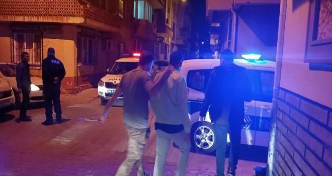 Nazilli'de kısıtlamada polisten kaçamadı: 7 bin lira ceza yedi